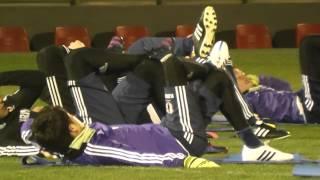 代表選手のトレーニング!サッカー日本代表の筋力トレーニングを公開!