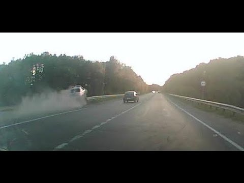 Driver had the guts to run a cop car off the road
