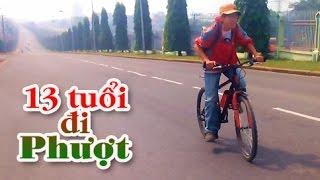 Chuyến đi Phượt đầu đời Của Nhóc 13 Tuổi (Sài Gòn - Biên Hòa 55 Km X 2)