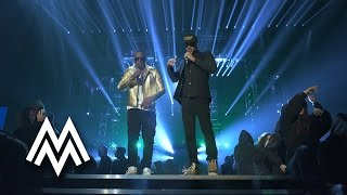 Fekky & Meridian Dan | 'Still Sittin Here / German Whip'  live at MOBO Awards | 2014