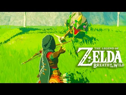 The Legend of Zelda Breath of the Wild Gameplay + Full Game Impressions (Exclusive Switch Gameplay) (видео)