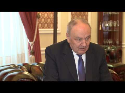 Moldovan president meets French official