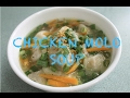 Chicken Molo Soup | EL's cooking guide