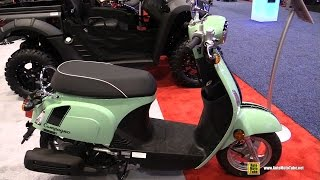 4. 2016 Kymco Compagno 110i Scooter - Walkaround - 2015 AIMExpo Orlando