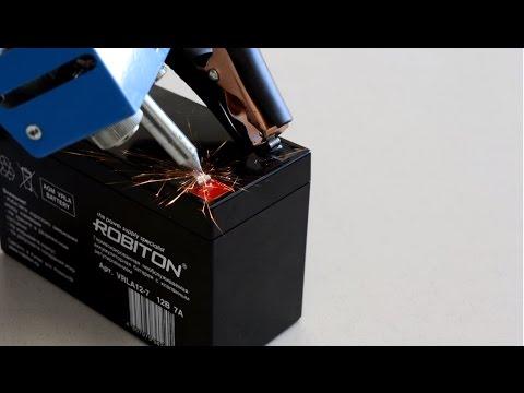 Видео Аккумулятор ROBITON VRLA12-9