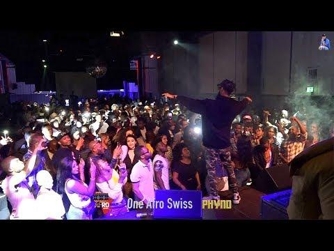 Phyno, Thrills Fans in Zurich Switzerland 2019