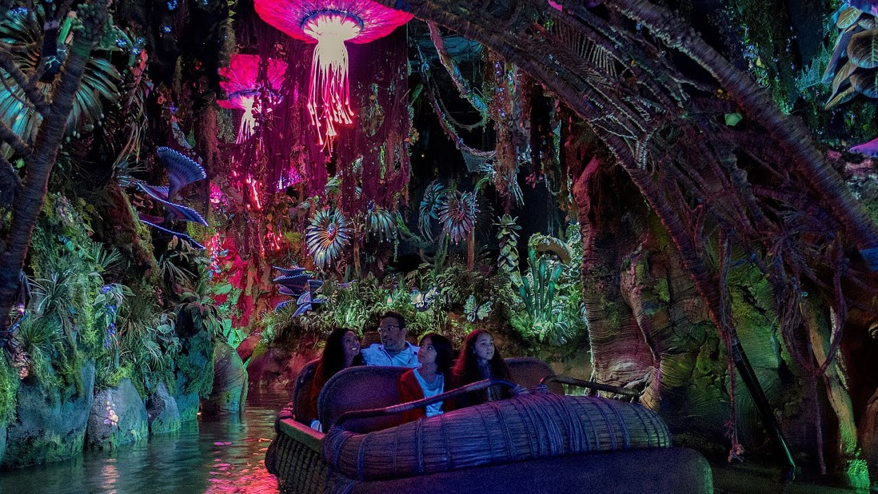 Sneak preview of Pandora - The World of Avatar