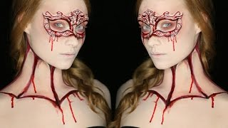 Carved Masquerade Mask | Special FX Series (CC) - YouTube