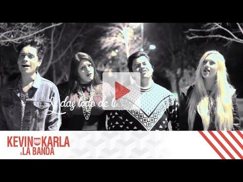 Tekst piosenki Kevin Karla y LaBanda - All of me (Spanish)  ft. Vesta & Dani Ride po polsku