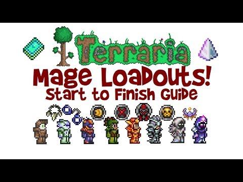 Terraria Mage Loadout Guide (Magic Class Build: Armor, Weapons & Accessories 1.3 & 1.2.4)