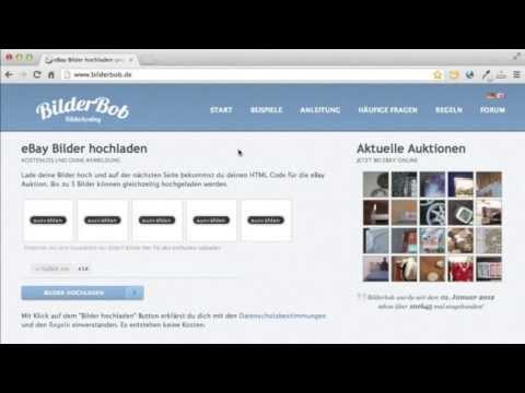eBay Bilder hochladen mit Bilderbob.de – Kostenlos für alle [Anleitung]