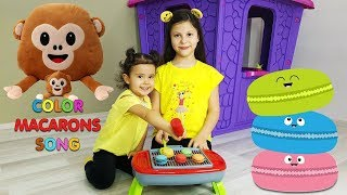 Mainan dan lagu anak 교육으로 동요와 아기의 노래를 씻 씻 الأطفال القوافي التعليمية وأغاني الأطفال Color Makarons