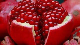 POMEGRANATE OPENING - Awesome Pomegranate Technique - jak otwo...
