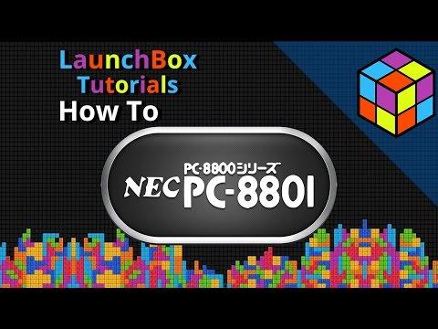 NEC PC-8801 - LaunchBox Tutorials