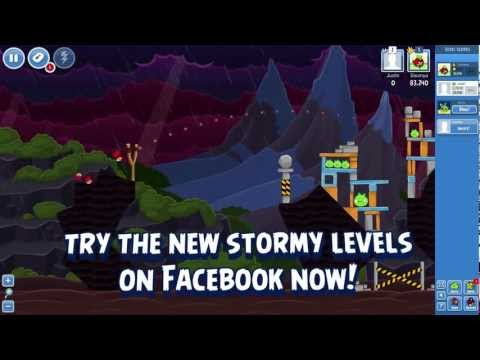 Angry Birds Facebook Gameplay: Surf & Turf