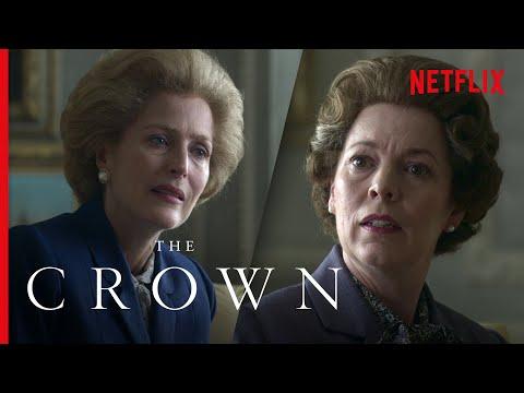 Queen Elizabeth II Meets Margaret Thatcher (Full Scene) | The Crown