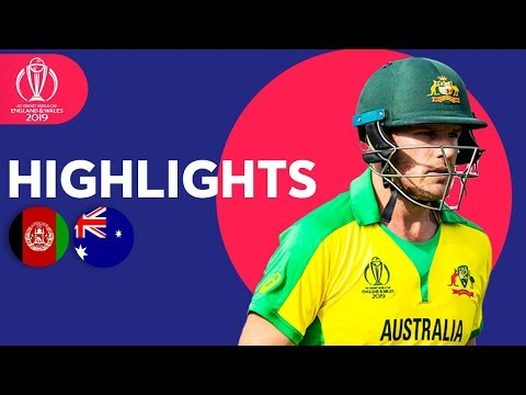 David Warner Hits 89* | Afghanistan vs Australia - Match Highlights | ICC Cricket World Cup 2019