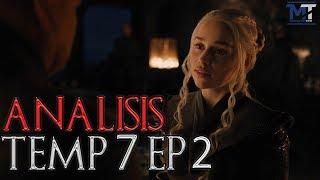 Cada vez se pone mejor! Ahora el análisis de este segundo episodio de la temporada 7, creo que hay bastante para predecir algunos futuros aquí. Redes ...