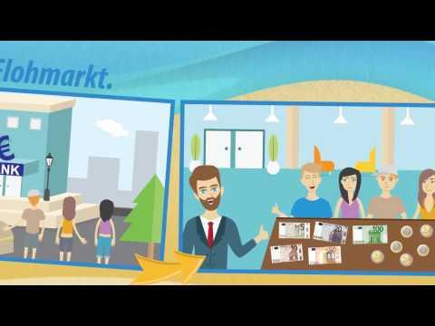 Geld und Markt - rechnen mit Euro ★ Mathematik Klasse 1