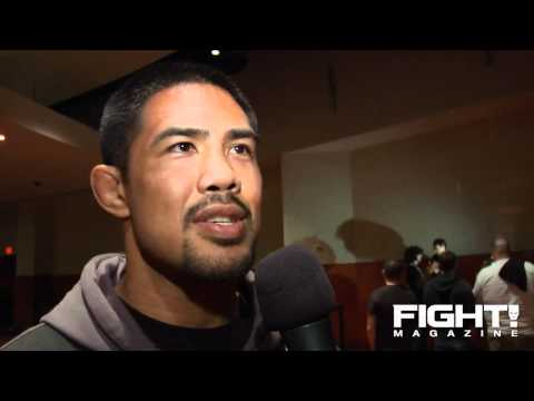 Mark Munoz was Not Excited About fighting Aaron A-Train Simpson