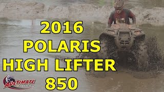 10. 2016 POLARIS SPORTSMAN HIGH LIFTER 850 AT JERICHO ATV FESTIVAL IN ACTION