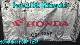 7. 2018 Honda CRF125F Unboxing. McKibben Powersport Honda.