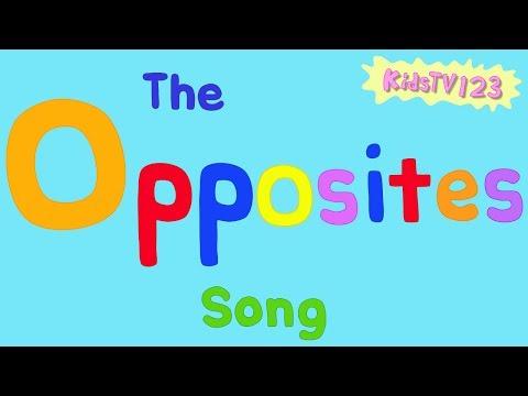 The Opposites Song видео