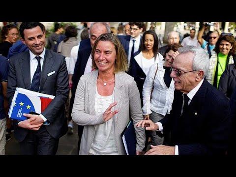 Στην Κούβα η Φεντερίκα Μογκερίνι