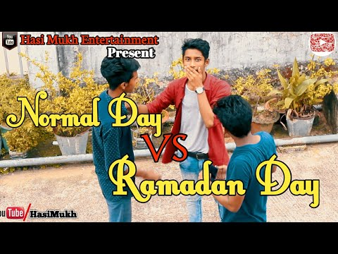 Bangla Funny Video 2018 | Normal Day VS Ramadan Day | Bengali in Ramadan | Hasi Mukh Entertainment