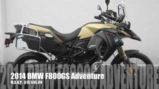 6. 2014 F800GS Adventure Ride & Spec Video!  Amazing!