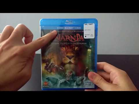The Chronicles of Narnia: The Lion, The Witch, and The Wardrobe Blu-ray unboxing (One Shot)