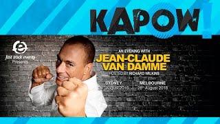 Jean-Claude Van Damme Coming to Australia