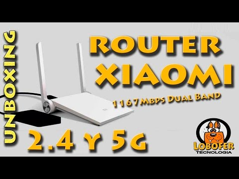 router xiaomi mi wifi 2.4 y 5g unboxing
