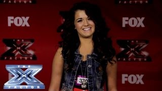 Yes, I Made It! Rylie Brown - THE X FACTOR USA 2013