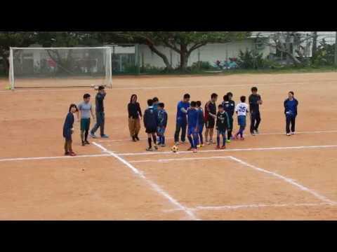 2017 3/8 宮里小学校 47期生 FC宮里6年vs先生軍団 前半
