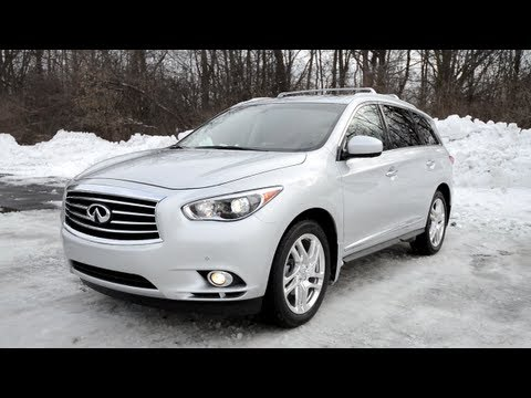 2013 Infiniti JX35 – WINDING ROAD POV Test Drive
