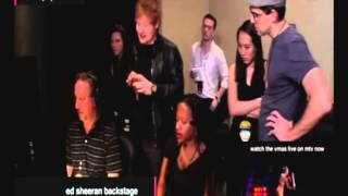 Ed Sheeran Reaction To Miley Cyrus Twerking VMA 2013