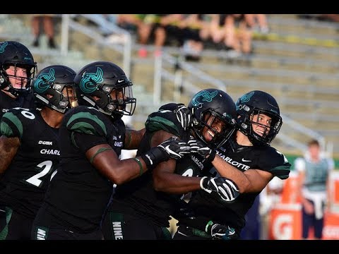 The Charlotte 49ers football team collected their second win of the season against ODU