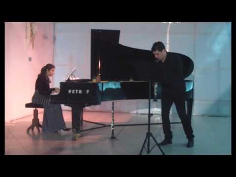 Solo de concours - Jules Mouquet -Zdravko Angelov clarinet, Elena Atanasovska - Ivanovska piano (видео)
