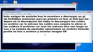 Video Como descargar e instalar yu-gi-oh forbidden memories + all cards para pc MP3, 3GP, MP4, WEBM, AVI, FLV Juli 2018