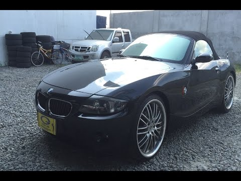 2004 BMW z4 Roadster FULL REVIEW (interior, exterior, engine)