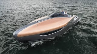 Lexus has revealed a new sport yacht concept that envisions how the brand might expand in the future.The yacht was introduced by Akio Toyoda, Lexus Chief Branding Officer, at Di Lido Island in Biscayne Bay, Florida.