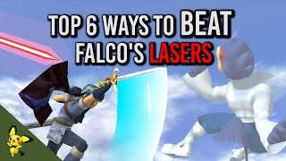 Top 6 Ways To Beat Falco's Lasers – SSBM Tutorials