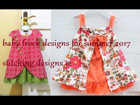 baby frock designs for summer 2017, stitching designs 12