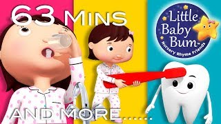 Download LBB videos  https://bamazoo.com/littlebabybumPlush Toys: http://littlebabybum.com/shop/plush-toys/© El Bebe Productions Limited00:04 This Is The Way We Brush Our Teeth - Part 201:51 Bus Song - Different Types of Buses!03:28 Five Little Ducks On A Bus!05:10 Teddy Bear Song - Part 2 06:55 Peeka Peeka Peekaboo08:36 Shapes Train Song 10:40 Baa Baa Black Sheep - Part 312:32 Bake, Bake A Cake14:09 Three Little Kittens - Part 316:28 The Fox18:22 Ten Little Buses - Part 220:08 Number 7 Song21:40 Five Little Ducks - Part 223:47 Skip To My Lou25:20 Row Row Row Your Boat - Part 327:18 Little Bunny Foo Foo28:51 ABC Song - Traditional30:46 Johny Johny Yes Papa - Part 231:57 Yankee Doodle33:29 Old King Cole35:04 ABC Underwater Song36:39 Two Little Dicky Birds38:41 Ten Little Fingers and Toes39:47 Take Me Out To The Ball Game41:24 Twinkle Twinkle Little Star - Part 543:20 Itsy Bitsy Spider - Part 344:59 Five Little Baby Bum Friends Jumping On The Bed46:48 Together Song48:21 Potty Song - Part 249:55 Hickory Dickory Dock - Part 251:30 Lavender's Blue Dilly Dilly53:03 Peekaboo Song - Part 254:43 Tweedledum And Tweedledee56:19 Where Is Mia?58:03 The Pig Eats An Apple59:36 Baa Baa Black Sheep - Part 401:01:13 Are You Sleeping?
