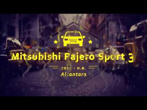 """Чехлы на Mitsubishi Pajero Sport 3, серии """"Alcantara"""" - серая строчка"""