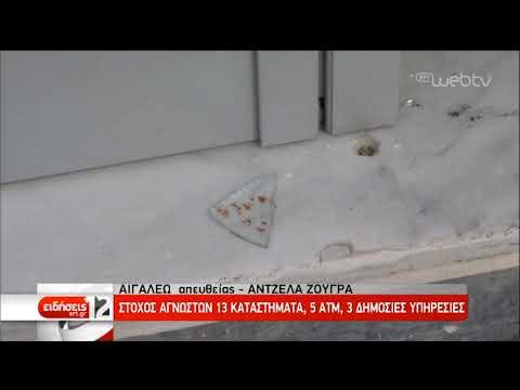 Μπαράζ καταδρομικών επιθέσεων στην Αθήνα τη νύχτα | 07/12/2019 | ΕΡΤ