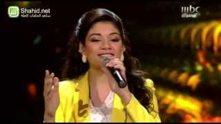 Arab Idol -حلقة نتائج التصويت - صابرين النيجيلي