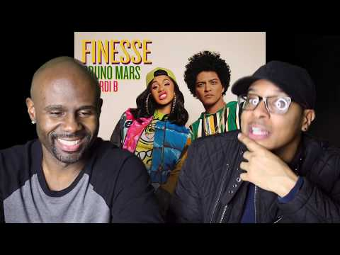 Video Bruno Mars - Finesse (Remix) Feat. Cardi B (REACTION!!!) download in MP3, 3GP, MP4, WEBM, AVI, FLV January 2017