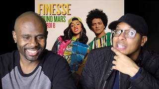 Video Bruno Mars - Finesse (Remix) Feat. Cardi B (REACTION!!!) MP3, 3GP, MP4, WEBM, AVI, FLV Februari 2018